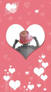 reportaje-comunion-recordatorio-corazon-corazones-rosa